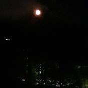 Fri morning moon