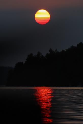 Lakefront Sunset Kipawa, QC