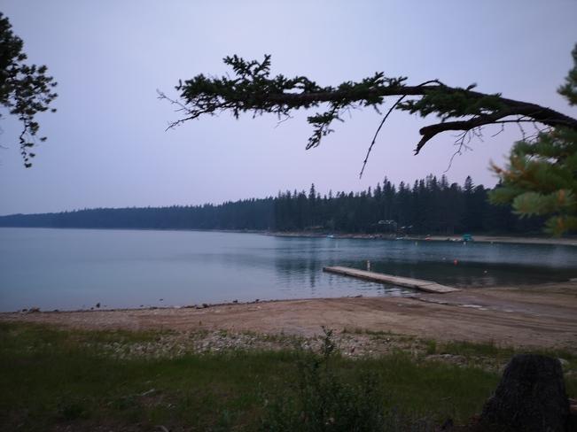 Nice Blue lake Swan River, MB