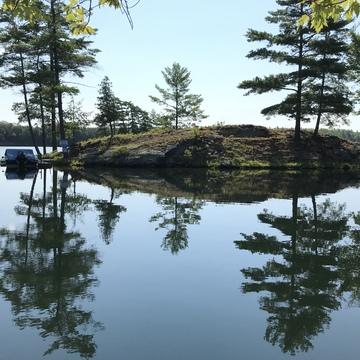 Buck Lake Mirror Image
