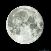 Full Buck moon from Toronto -Jul 23rd 2021