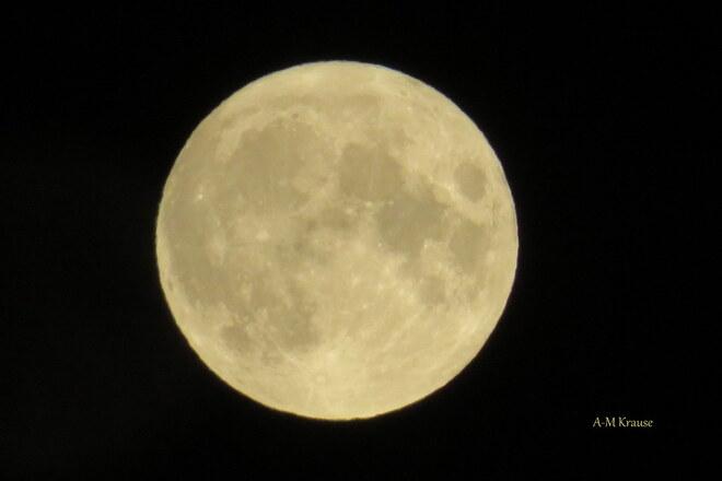Pleine Lune 23 juillet 2021 Saint-Pierre-de-la-Rivière-du-Sud, QC