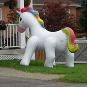 Allegedly a Unicorn Lawn sprinkler!