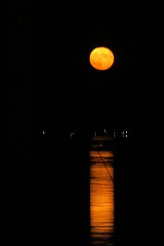 Buck Moon or Thunder Moon. La Have, NS
