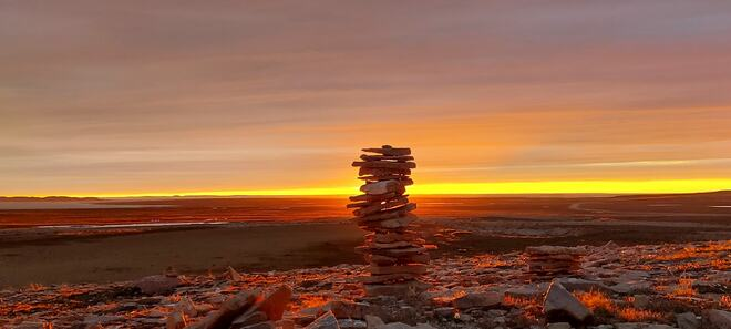 Sunset in Igloolik, NU Igloolik, NU