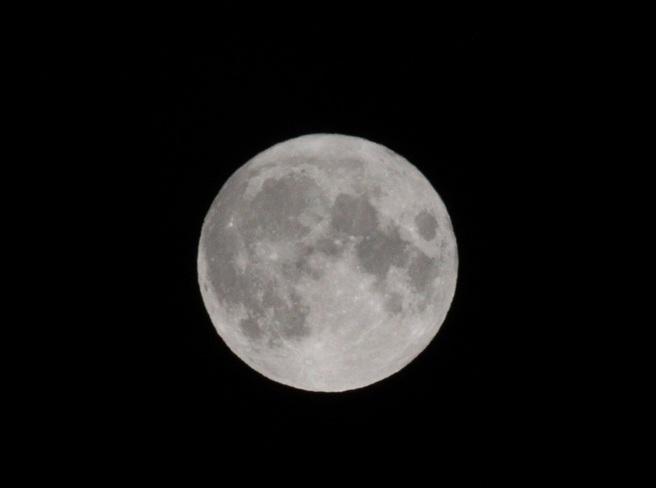 La lune du tonnerre Saint-Frédéric, QC