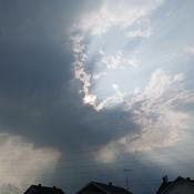 ciel menaçant à Joliette