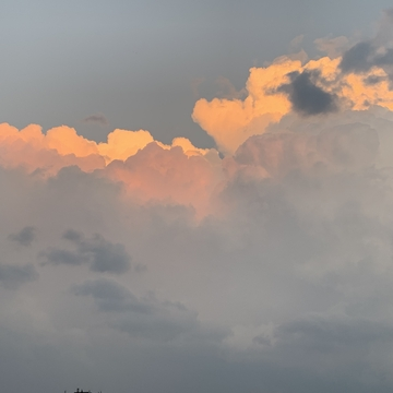 Clouds after a storm