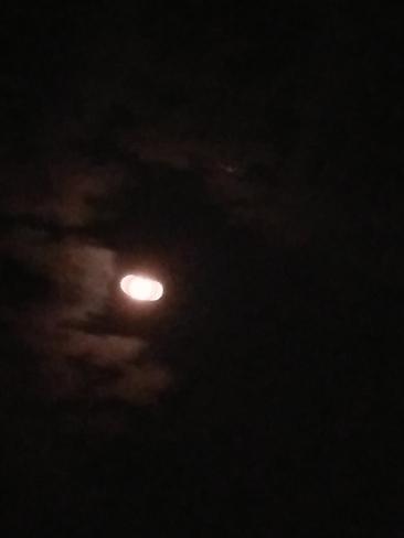 La lune et Jupiter Marieville, QC