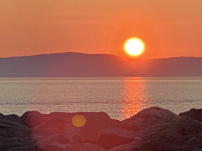 Quelques couchers de soleil en Gaspésie Gaspésie-Îles-de-la-Madeleine, QC