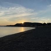 Quelques couchers de soleil en Gaspésie