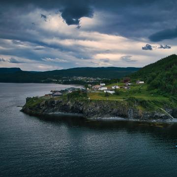 Rain Clouds , Cox's Cove , Newfoundland And Labrador