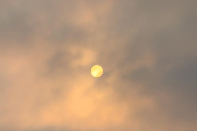 Smoggy Sun Halifax, NS