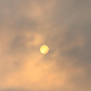 Smoggy Sun