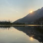 Beautiful Vermilion lakes