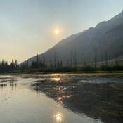 Vermilion Lakes sunset