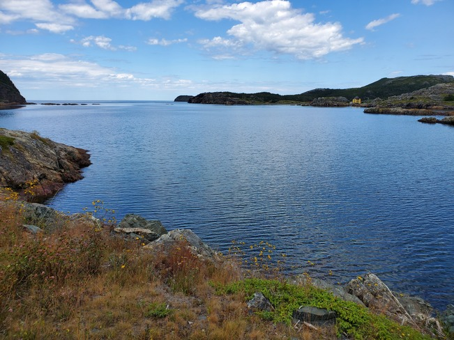 beautiful day on the water. Salvage, NL