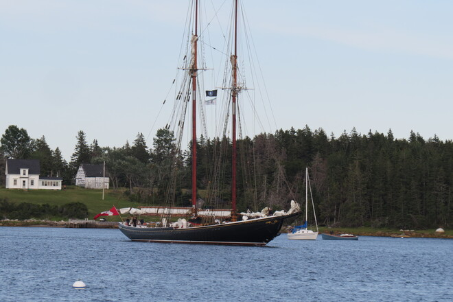 Bluenose II Indian Point, NS