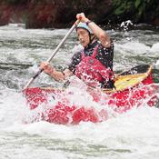 White Water Canoe