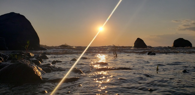 Grand Beach Sunset Grand Beach, Grand Marais, MB
