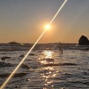 Grand Beach Sunset