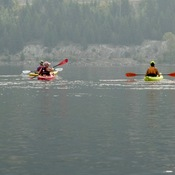 KAYAKING WITH FRIENDS!