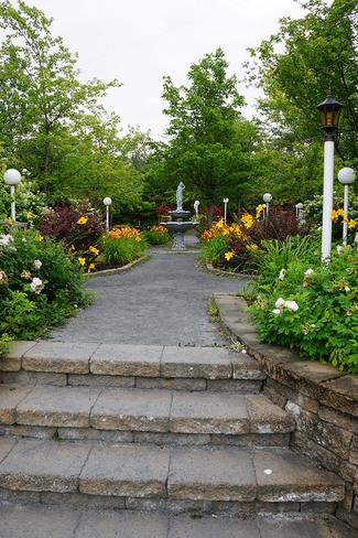 Jardin Saint-Séverin, Québec, CA