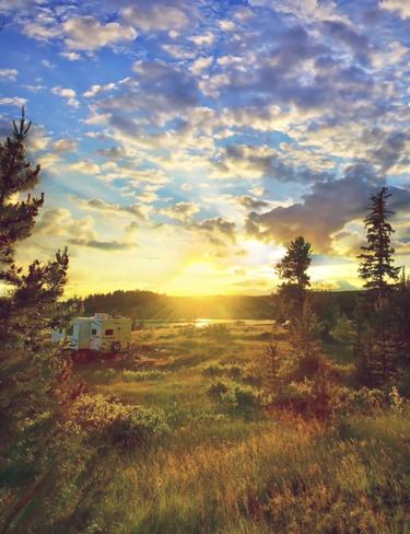 Tunkwa at sunset Kamloops, British Columbia, CA