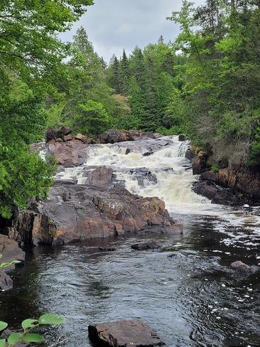 chutes croches Parc National du Mont-Tremblant, QC