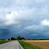 impending storm clouds