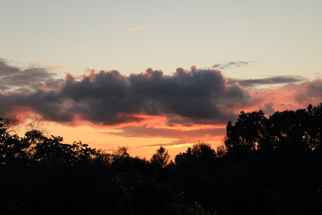 First Sunset of August 2021 Woodstock, ON