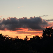 First Sunset of August 2021