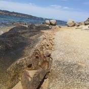 couche de rocher différente