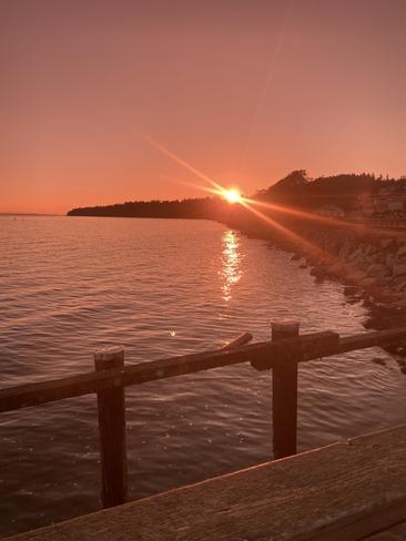 Sunset White Rock, British Columbia, CA