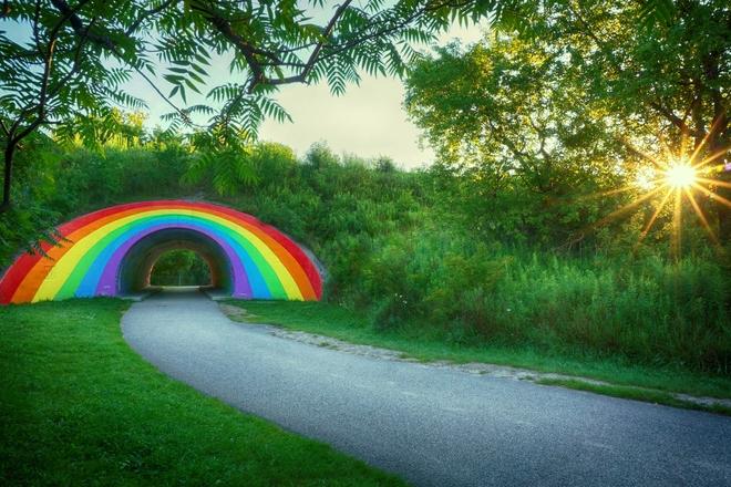 Rainbow Tunnel Toronto, Ontario