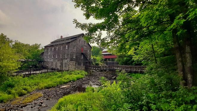 Le moulin à laine d'Ulverton Ulverton, QC