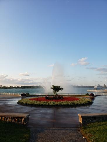 Peace Fountain Windsor, ON