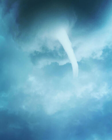 Funnel Clouds in Essex County Ruscom Station, ON