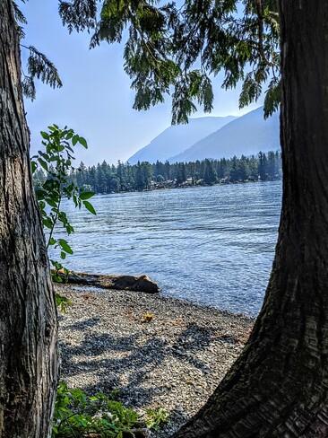 kayak on cultus lake Chilliwack, BC