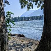 kayak on cultus lake