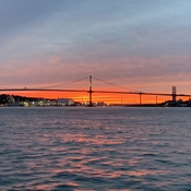 Sunset in Halifax Harbour