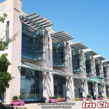 August 4 2021 27C Beautiful garden Richmond Hill Central Library , Toronto