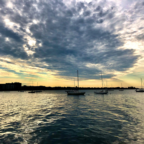 Dramatic sky!! Pointe-Claire, Quebec, CA