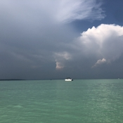 Storms approaching