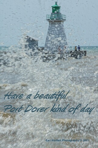 It Is Windy In Port Dover Ontario Port Dover, ON