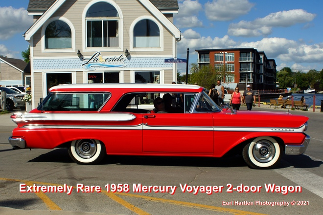 Extremely Rare 1958 Mercury Voyager 2 door wagon Port Dover, Ontario