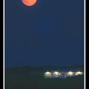 Trois-Rivières,pleine lune du 21 août.