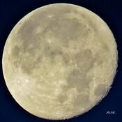 Pleine Lune Bleue .