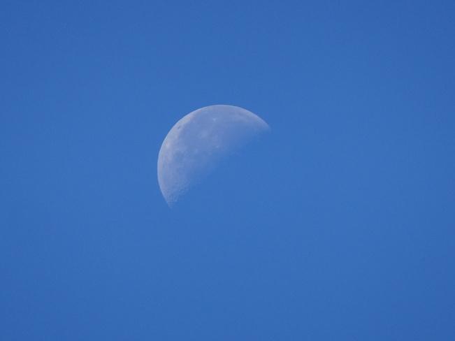 Daytime Moon Sudbury, ON