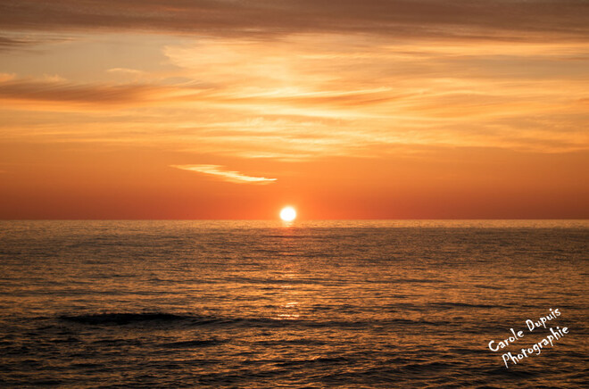 Parc National Forillon/ lever du soleil Boulevard de Saint-Majorique, Gaspé, QC